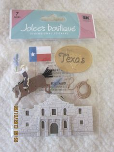 Florida OR Texas OR Paris Dimensional Stickers from Jolee's Boutique by WhimseysByAnne, $5.00