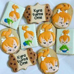 Bolachas Decoradas Flintstones /#Flintstonescookies/ Cookie Flintstones