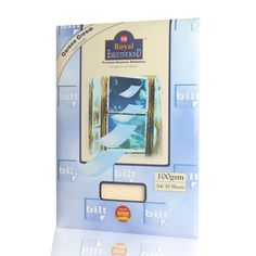 Price Rs.130/-Buy Royal Executive Bond 100 GSM A4 -Corona Cream (2 Packs of 30 Sheets Each) Online in India
