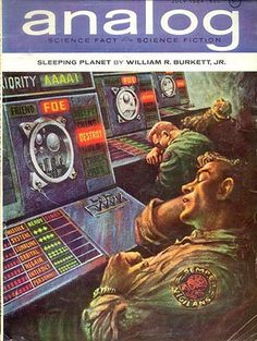 """Juillet - 1964 - N° 404, couverture de Kelly Freas """"The Sleeping Planet""""   Flickr - Photo Sharing!"""