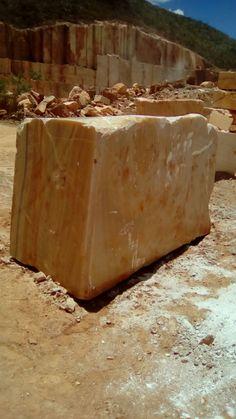 orange onyx Marble Block, Stone Quarry, Stone Blocks, Travertine, Granite, Industrial, House Design, Tools, Minerals