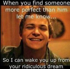 I need to wake you up from tht dream
