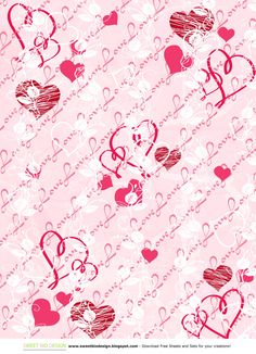 SBDSweet Valentine Set di Carte!!! - Sweet Valentine paper Set!!!by SweetBioDesign