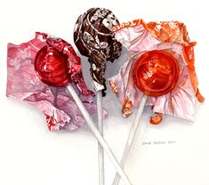 """How many licks"" to the center of a Tootsie Roll Pop. Food Illustrations, Illustration Art, Watercolor Food, Candy Art, Food Painting, Food Drawing, Candy Drawing, Wow Art, Color Pencil Art"