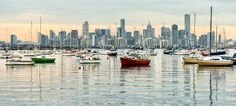 Williamstown Melbourne Views. Purchase this print in a beautifully prepared frame.  http://www.nikartphotography.com/