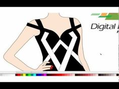Pattern Design Your Own Clothes Software Red Carpet Dress Design
