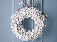 Christmas Marshmallow Reed for the Holidays