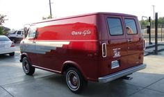 My own '72 'Phat Shorty' Ford Econoline E-100 customized Van...