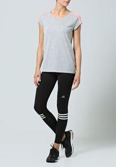 adidas Performance - RESPONSE - Collants - black/white