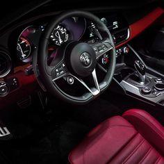 Capture the mood. Alfa Romeo Usa, Alfa Romeo Brera, Alfa Romeo Cars, Car Interior Design, Alfa Romeo Giulia, Top Cars, Italian Style, Sport Cars, Luxury Cars