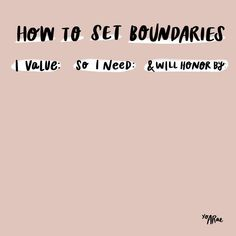 How to Set Boundaries Cheat Sheet ( Infp, Therapy Tools, Healthy Mind, Healthy Habits, Self Development, Self Improvement, Self Help, Self Care, Positive Vibes