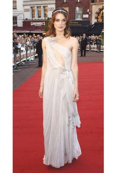 Keira pulls of a risqué Rodarte gown with grace