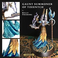 Age of Sigmar | Silver Tower | Gaunt Summoner Tzeentch #warhammer #ageofsigmar #aos #sigmar #wh #whfb #gw #gamesworkshop #wellofeternity #miniatures #wargaming #hobby #fantasy