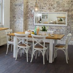 Tuscan 1400/1800 Small Extension Package with French Cross Chairs (Table: 1400/1800W x 900D x 780H mm; Chairs: 460W x 420D x 870H mm) RRP $1,499