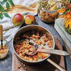 Peach-Ginger Chutney With Golden Raisins Recipe — Dishmaps