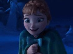 And clumsy… | Community Post: 17 Reasons Why Anna Should Be Your Favorite Disney Princess