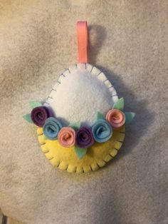 A personal favorite from my Etsy shop https://www.etsy.com/listing/576034428/easter-egg-decor-felt-ready-to-ship