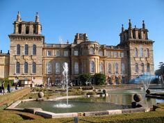 United Kingdom Blenheim palace Cities