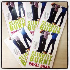 Slightly Burnt by Payal Dhar is a fresh take on coming of age in modern India.  Available in December!