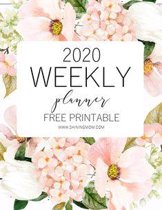 FREE Printable Weekly Planner So Beautiful in Florals! Free Printable Weekly Calendar, Weekly Planner Template, Student Planner Printable, Printable Calendars, Teacher Planner Free, Mom Planner, Free Planner, College Planner, Project Planner
