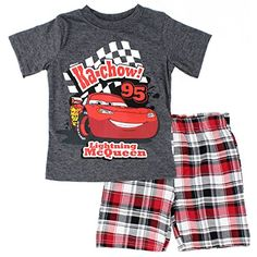 Disney Cars Toddler Boys 2 piece Tee Shorts Set (3T, Grey Ka-Chow) Disney http://www.amazon.com/dp/B01DPZ3YMW/ref=cm_sw_r_pi_dp_t1Bcxb1YHGRTY