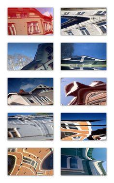 Ollipekka Kangas:Reflection from cars in Port Arthur, Turku 2009-13
