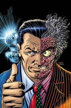 Two Face by Mike Zeck and Jerry Ordway *
