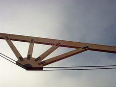 Viga tipo cercha - Taller de Ensamble #woodarchitecture #wood #madera…
