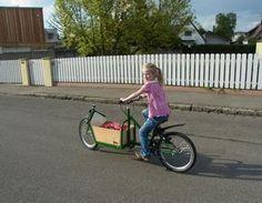 Kinder Lastenrad 2 Fahrrad,Stahl,Lastenrad,Transportrad