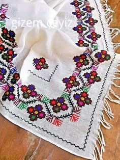 This Pin was discovered by Neş Embroidery Patterns Free, Cross Stitch Patterns, Cross Stitching, Cross Stitch Embroidery, Wedding Day Timeline, Bargello, Needlework, Bohemian Rug, Diy And Crafts