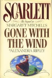 The sequel to Margaret Mitchell's Gone With the Wind by Alexandra Ripley.  The love affair between Scarlett O'Hare and Rhett Bulter, the greatest love affair in all fiction, reaches its startling culmination.