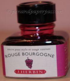 Rouge Bourgogne. J. Herbin