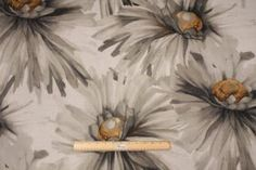 Contemporary/Retro Prints :: 6.2 Yards Richloom Samantha Printed Cotton Drapery Fabric in Charcoal - Fabric Guru.com: Fabric, Discount Fabri...