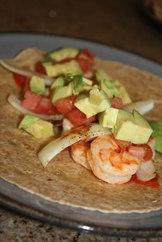 Spicy Tequila Lime Shrimp Tacos