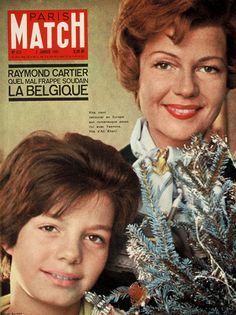Rita Hayworth and daughter Yasmin http://www.pinterest.com/anasarolavin/royals/