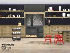 Sims 4 CC's - The Best: Kitchen by Wondymoon