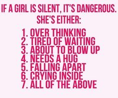 A guide to girl's mind. :)