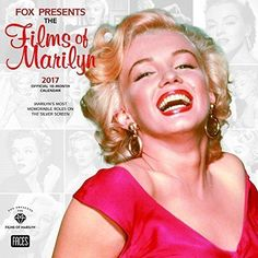 """""""Fox Presents the Films of Marilyn"""" - 2017 official 18-month wall calendar, Browntrout Publishers, July 2016."""