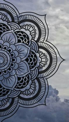 Mandala wallpaper by Maussk now. Browse millions of popular cielo wallpapers and ringtones on Zedge and personalize your phone to suit you. Browse our content now and free your phone Doodle Art Designs, Art Drawings Simple, Art Painting, Art Drawings, Mandala, Art, Design Art, Art Wallpaper, Mandala Wallpaper