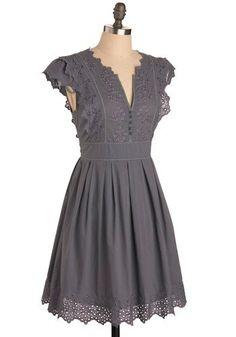 diy: gray dress by MissyLiss