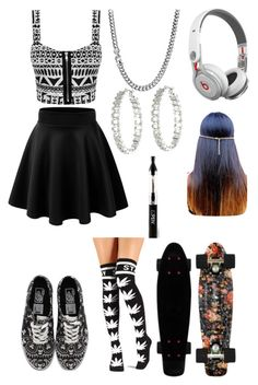 """""""**"""" by im-gone-slayy ❤ liked on Polyvore featuring Beats by Dr. Dre, Vans, Lauren Ralph Lauren and David Yurman"""