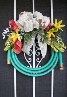 DIY Wreath For The Gardener