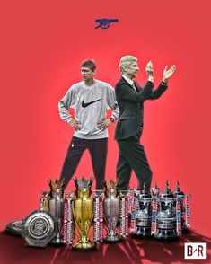 Arsene Wenger leaves Arsenal a legend after 22 years and 10 major trophies. Football Arsenal, Arsenal Fc Players, Aubameyang Arsenal, Arsenal Wallpapers, Nba, Arsene Wenger, Football Design, Football Art, Football Wallpaper