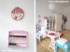 craft room / sewing corner