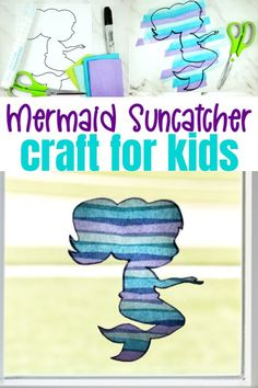 Sun Crafts, Fairy Crafts, Crafts For Kids To Make, Diy Crafts For Kids, Cool Art Projects, Projects For Kids, Princess Crafts, Mermaid Crafts, Thing 1