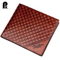 2015 designer leather famous brand Portfolio men wallets brown men's wallet short card pocket Money male purses carteras cuzdan
