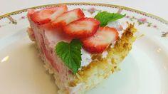 Betty's Coconut Strawberry Pie