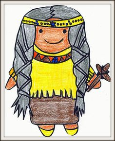 Free St. Kateri Paper Doll from http://thelittleways.com/crafts/fun-st-kateri-paper-doll-and-coloring-page