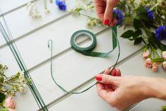 DIY: Midsummer flower wreath