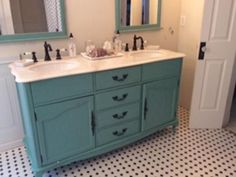Home Decorators Collection Provence 62 In W X 22 D Double Bath Vanity Blue With Natural Marble Top White